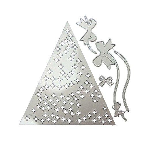 Scrapbooking, Schneeflocke Metall Weihnachten Halloween Prägeschablonen Stanzformen Scrapbooking Schablonen DIY Scrapbooking Album Papierkarte (E) ()