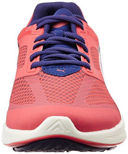 Puma IGNITE Mesh Wn's, Chaussures de course femme Rouge - Rot (cayenne-astral aura 03)