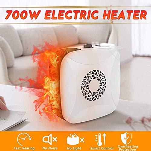 NBSXR Calentador de Espacio de cerámica portátil con termostato Ajustable y protección...