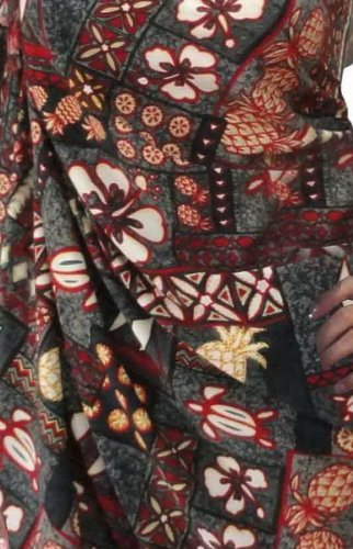 Bikini Vertuschung Bademode Badeanzug Badeanzug plus Größe Rayon Sarong Wickelkleid Grau