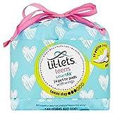 lil-lets Teens Ultra Handtücher mit Flügeln Tag (14)–2Stück