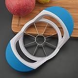 Apple Cutter Divider Pear Slicer Acciaio inossidabile Blu Manico in plastica Sutop PGQ-BL