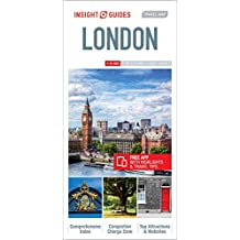 Insight Guides: Travel Map London (Insight Travel Maps)