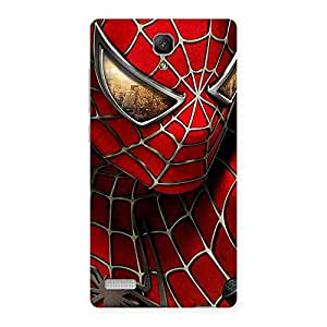 Stylish Spide Two Red Back Case Cover for Redmi Note Prime