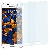 2 x mumbi Displayschutzfolie für Samsung Galaxy S7 Schutzfolie (bewusst kleiner als das Display, da dieses gewölbt ist)