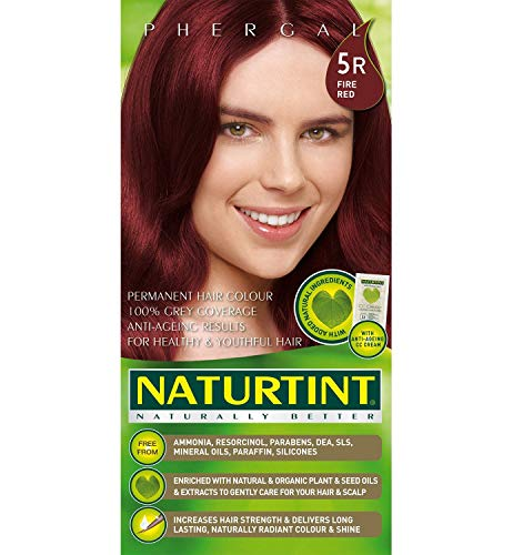 Naturtint | Permanent Hair Colourant Fire Red 5R (formerly 9R) 165ml | 9 x 165ml (DE) -
