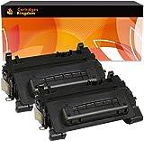 Cartridges Kingdom Pack 2 Compatibles Cartouches de Toner Laser Remplacement pour HP CF281A 81A Laserjet Enterprise M604dn M604n M605dn M605n M605x M606dn M606x MFP M630dn M630f M630h Flow M630z