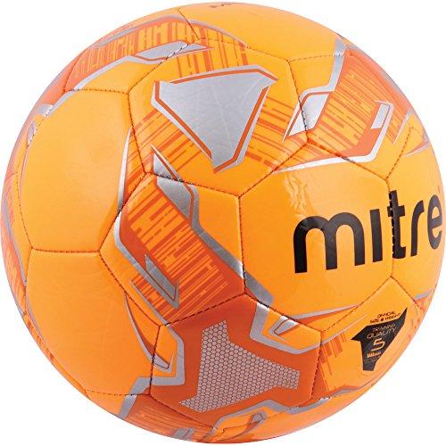 Mitre Impel Training Football  Orange   Silver  Size 4