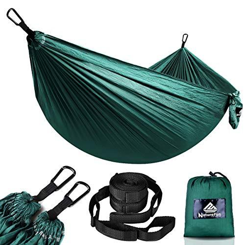 NATUREFUN Ultraleichte Reise Camping Hängematte | 300kg