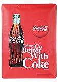 Vintage Blechschild Coca Cola , Modell:Flasche