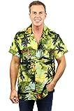 Funky Chemise Hawaienne, New Surf, Vert Foncé, L