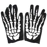 Newin Star Halloween Zubehör - Skelett Handschuhe