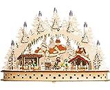 Schwibbogen, LED, Kerzen, Winterkinder Weihnachtsdmarkt Weihnachten, Lichterbogen