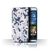 Stuff4 Hülle / Case für HTC Desire Eye LTE / Arktischer
