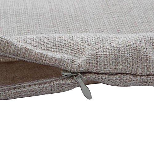 Leinenbaumwoll Kissenbezüge 45cm x 45cm in verschiedene Muster (Anker) - 4
