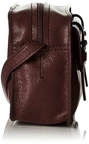 Marc O'Polo Damen 60717180801104 Crossbody Bag M Umhängetaschen, 24x14x8 cm Braun (burnt leaf 724)