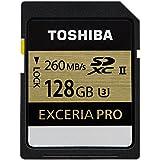 Toshiba Exceria Pro Carte mémoire SDXC 128 Go (UHS-II, U3)