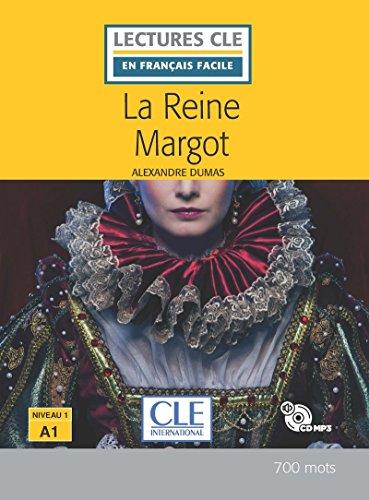 La reine Margot- Niveau 1/A1 - Lecture CLE en français facile - Nouveauté - Livre + CD