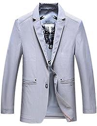 WS668 Homme Casual Business Slim-fit Mäntel Haute Qualité Bouton Costumes  Vestes Mens Fashion Jacket 2aa3b1c98a5