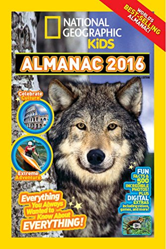 National Geographic Almanac 2016 por Vv.Aa.