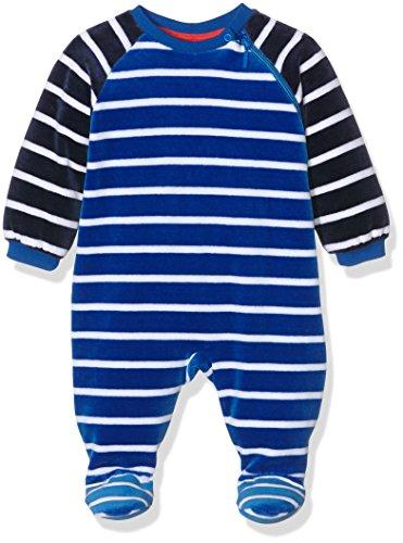 Sanetta Baby-Jungen Schlafstrampler 221264, Blau (Strong Blue 50022), 98