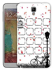 """Humor Gang Cute Bird Cage Scenery Printed Designer Mobile Back Cover For """"Samsung Galaxy Note 3 Neo"""" (3D, Matte Finish, Premium Quality, Protective Snap On Slim Hard Phone Case, Multi Color)"""