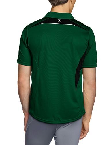JAKO Herren Polo Shirt Competition Grün/Schwarz