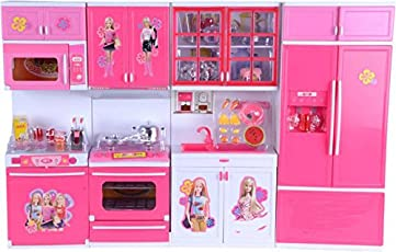 Tabu Toys World Dream House kitchen Set For Kids (color & Model May Vary)