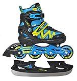 Axer Sport, 2in1 Inline skates, Schlittschuhe Olsen Gr. 35-38