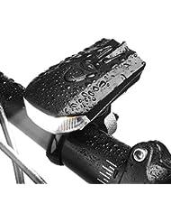 Sunspeed Eclairage Vélo LED Ultra Puissant Lampe de Vélo USB Rechargeable, Mode de Lumière d'induction Intelligent, Résistant à l'eau, 400Lumens