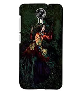 ColourCraft Lovely Lady Design Back Case Cover for MICROMAX CANVAS XPRESS 2 E313