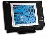 TFA Dostmann Nexus Funk-Wetterstation, 35.1075, mit Wind- und Regenmesser, Wetterbeobachtung, Wetter-Aufzeichnung, schwarz