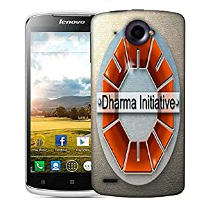 Snoogg Dharma Initiative Designer Protective Phone Back Case Cover For Lenovo S920