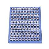 GOZAR LR41Knopf-Batterien / Knopf-Zellen für Uhren, Spielzeug, elektronische Taschenrechner, 100 Stück