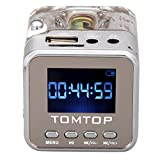 Andoer Mini Digital Portatile di Musica MP3/4Player Micro SD/TF USB Radio FM Disk Presidente