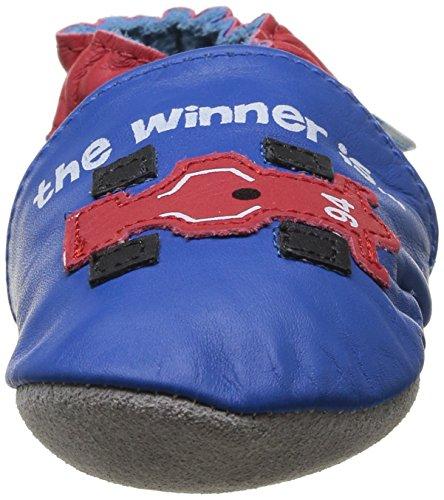 Blau Racing Jungen 53 Baby Robeez blue Krabbelschuhe Red wz77Ipaq