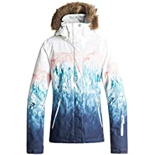 Roxy Jet Ski SE Chaleco, Mujer, Bright White_Snowyvale, Medium