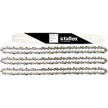"""1 espada y 3 tallox cadenas de sierra .325"""" 1,6 mm 67 eslabones 40 cm compatible con Stihl"""