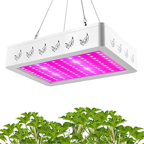 CRZJ LED pflanzenlicht vollspektrum LED-Pflanzenwachstumlicht mit vollem Spektrum, Mit verstellbaren Seilen Geeignet für Zimmerpflanzen, Gemüse und Blumen, 1000W