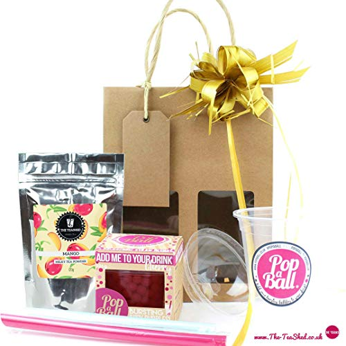 Bubble Tea Kit Gift Set with 3 Servings