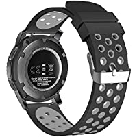 BarRan reg; Nokia Steel HR 40MM Bracelet, Quick Release Watch Band Bracelet en silicone pour Nokia Steel HR 40MM