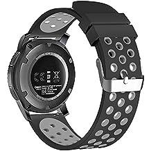 BarRan® Nokia Steel HR 36mm watch correa, de liberación rápida banda de reloj de silicona caucho correa de muñeca para Nokia Steel HR 36mm