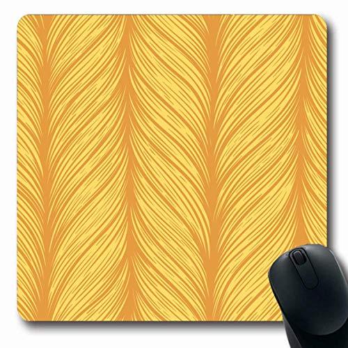 Mauspads für Computer Brushstroke-Muster Weben Abstrakte Leinwand Universelle Klassische Kontur Handwerk Zeichnung Design Moderne rutschfeste Längliche Gaming-Mausunterlage - Weben Muster