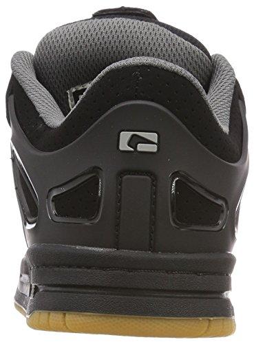 Globe Herren Agent Skateboardschuhe, Schwarz (Black/black/charcoal 10766)