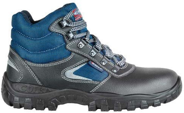 Cofra TA100 – 000.w43 calzado de trabajo,Soho, Tamaño 9, color azul/negro