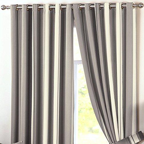 Dreams 'n' drapes bianchria per camera da letto, charcoal, curtains: 90
