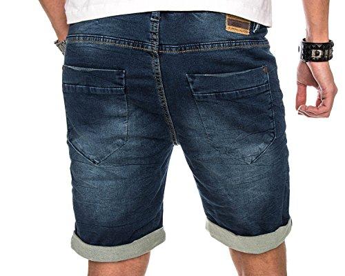 Golden Brands Selection -  Pantaloncini  - Attillata  - Uomo Blu