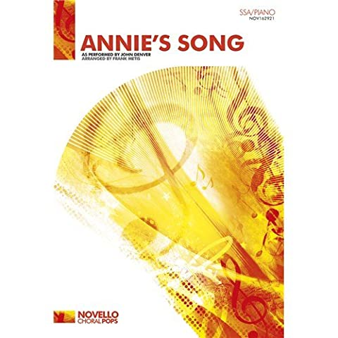 John Denver: Annie's Song (SSA/Piano). Sheet Music for SSA, Piano