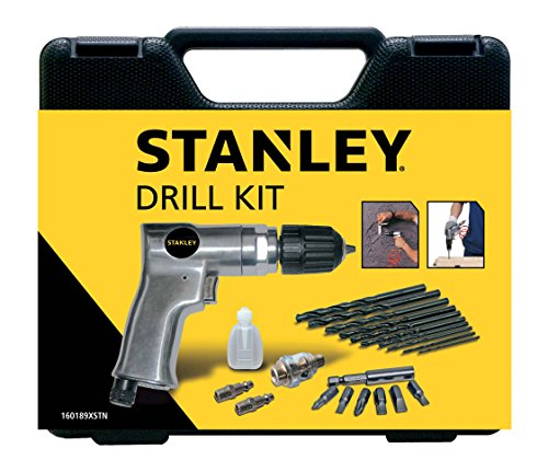 Stanley accessori per aria per compressori Drill Kit, 160189XSTN