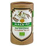 Maca fit 100 Kapseln hochdosiert, Premium Bio Qualität Original aus Peru